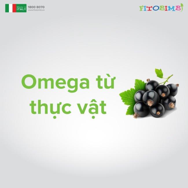 Fitobimbi Omega Junior được chiết xuất 100% từ thực vật