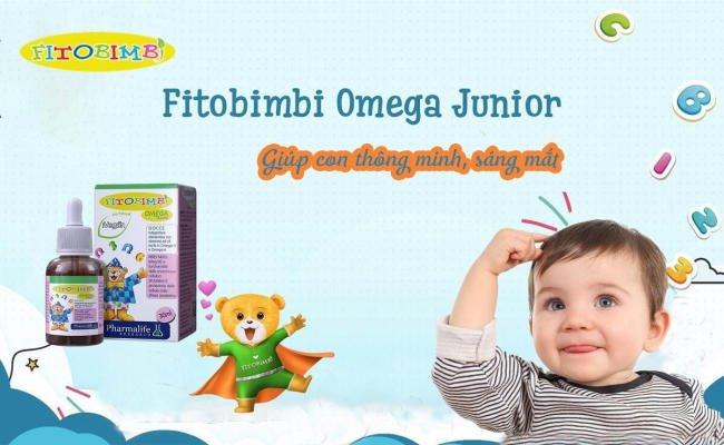 """Fitobimbi Omega Junior - Khoản """"đầu tư"""" có lợi, cho con yêu phát triển vượt bậc"""