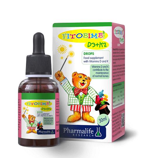 Vitamin D3 K2 cho trẻ sơ sinh của Fitobimbi có nhiều ưu điểm vượt trội