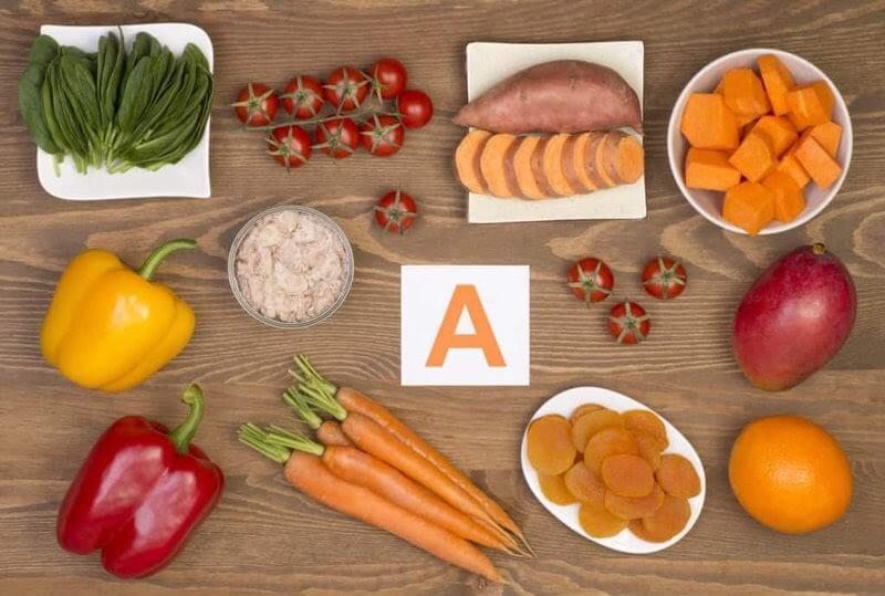 Bổ sung vitamin a cho trẻ bằng thực phẩm hàng ngày