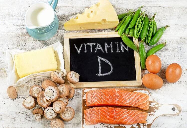 Bổ sung Vitamin D cho trẻ qua nguồn thực phẩm hàng ngày.
