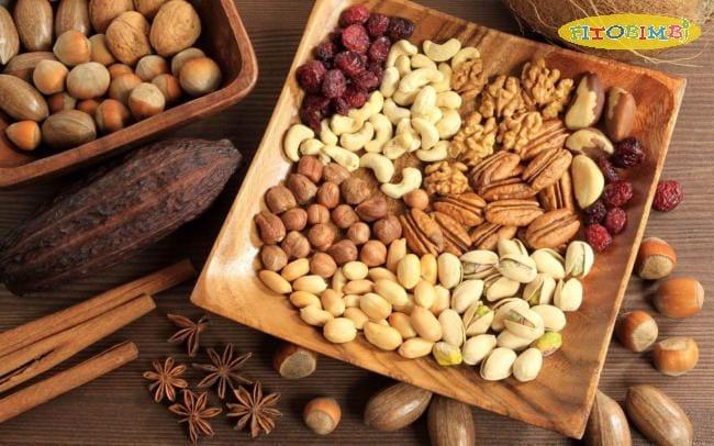 Các loại hạt giàu DHA