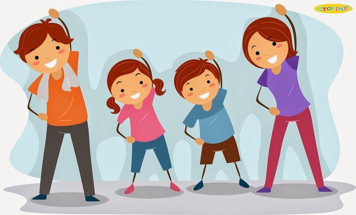 Cùng nhau tập thể dục mỗi ngày