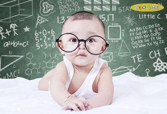 DHA chiếm tỷ trọng lớn trong chất xám của não bộ, quyết định tới trí thông minh của trẻ