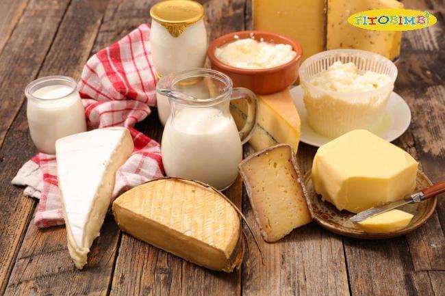 DHA còn chứa rất nhiều trong sữa và các chế phẩm từ sữa