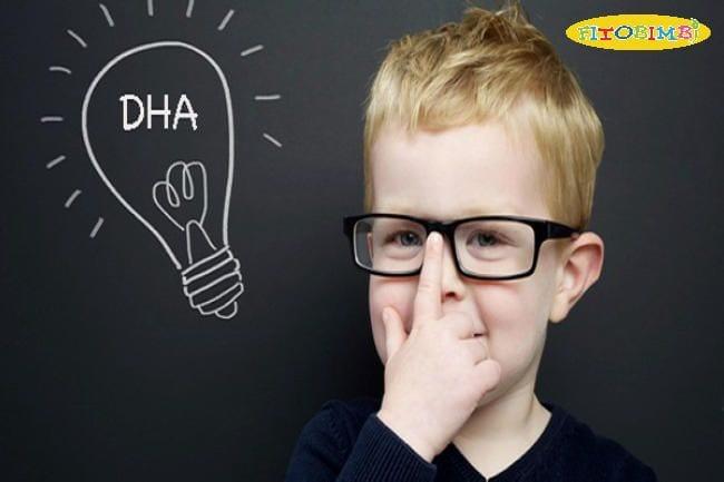 DHA tốt cho sự phát triển não bộ