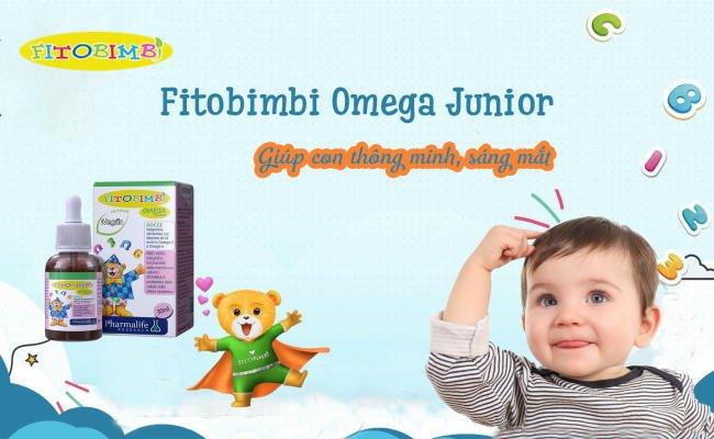Fitobimbi Omega Junior - Giúp con thông minh, sáng mắt