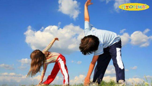 Khuyến khích trẻ tập thể dục