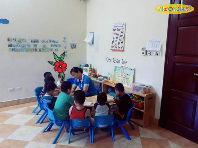 Lớp học cho trẻ chậm nói Thiên Thần Nhỏ