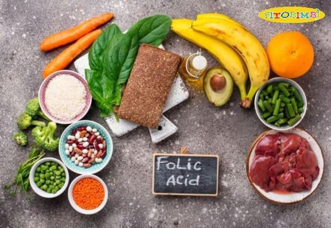 Thực phẩm giàu acid folic