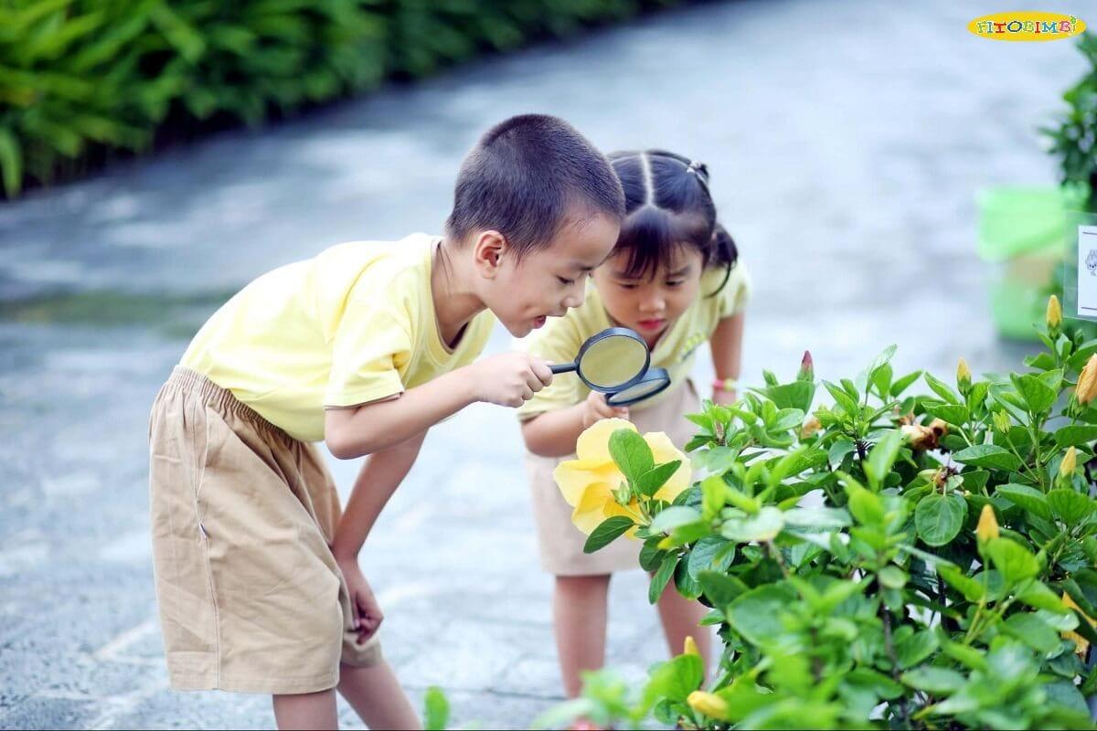 Tìm hiểu sở thích của trẻ