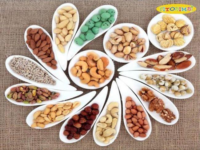 Trẻ bị tăng động nên ăn nhiều hơn các loại hạt dinh dưỡng