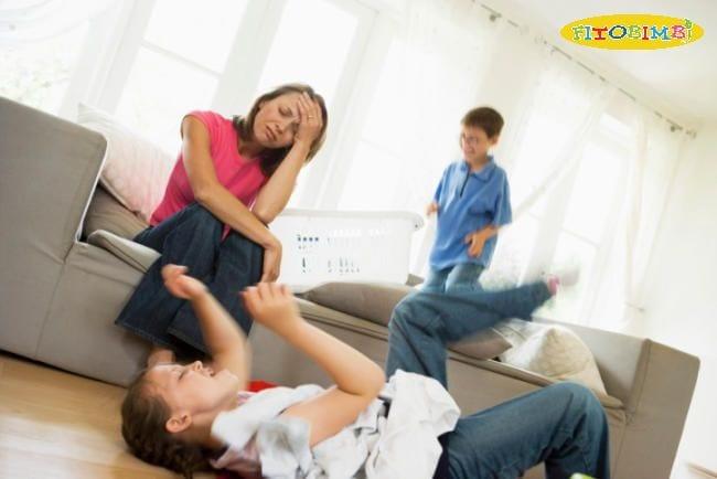 Trẻ chuyển động không ngừng nghỉ