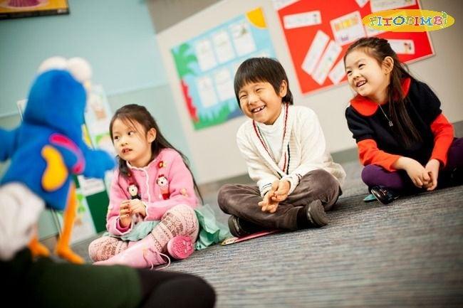 Trẻ có khả năng tương tác