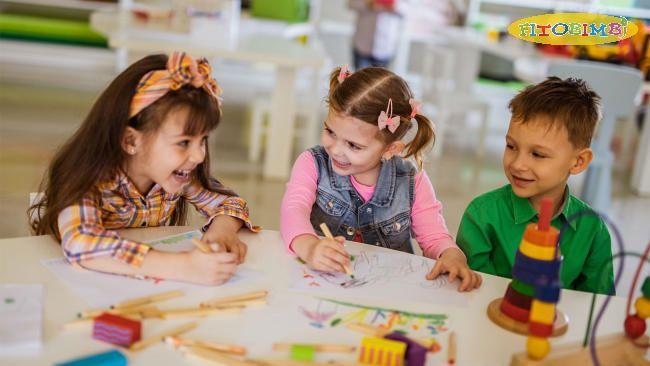 Trẻ có thể tự tin giao tiếp với mọi người