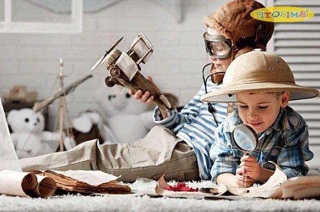 Trẻ thông minh có trí tưởng tượng sống động