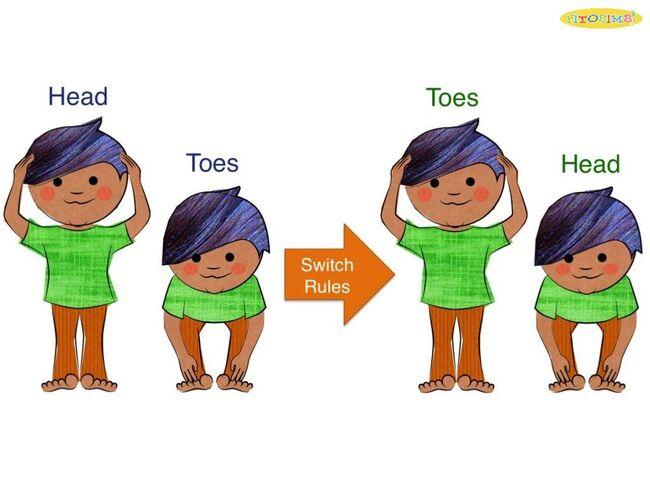Trò chơi Head-Toes-Knees-Shoulders
