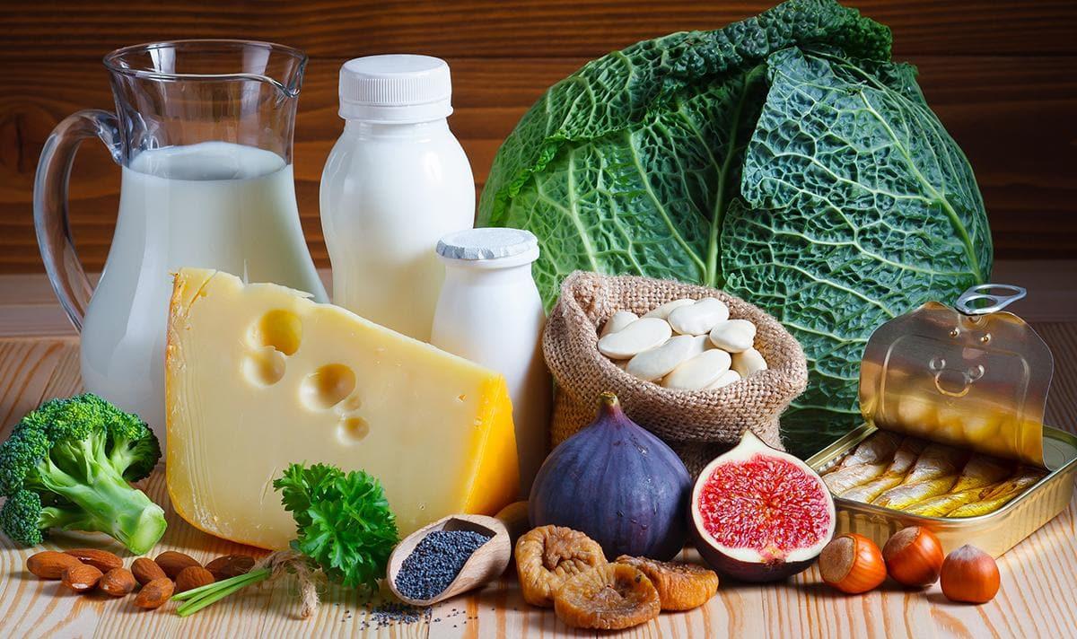 Những thực phẩm bổ sung canxi cho trẻ dưới 1 tuổi