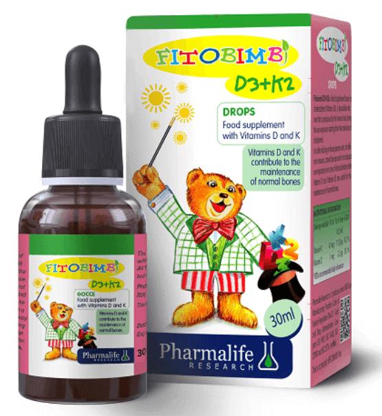 Bổ sung đồng thời vitamin D3 và K2 giúp trẻ hạn chế còi xương, gãy xương và phát triển chiều cao tối ưu
