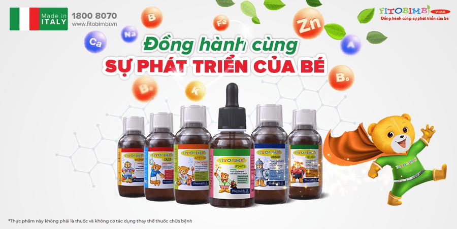 Các sản phẩm bổ sung vitamin và khoáng chất an toàn, hiệu quả, dành riêng cho trẻ em