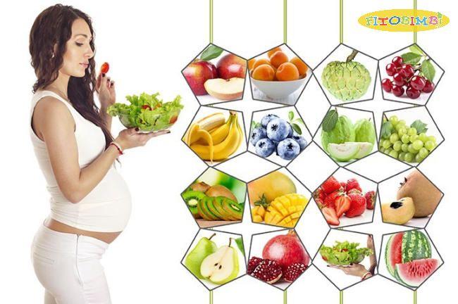 Ăn thực phẩm lành mạnh giúp trẻ thông minh từ trong bụng mẹ