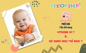 bổ sung vitamin cho trẻ đúng cách