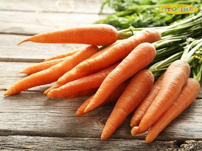 Cách chữa ho bằng cà rốt mật ong