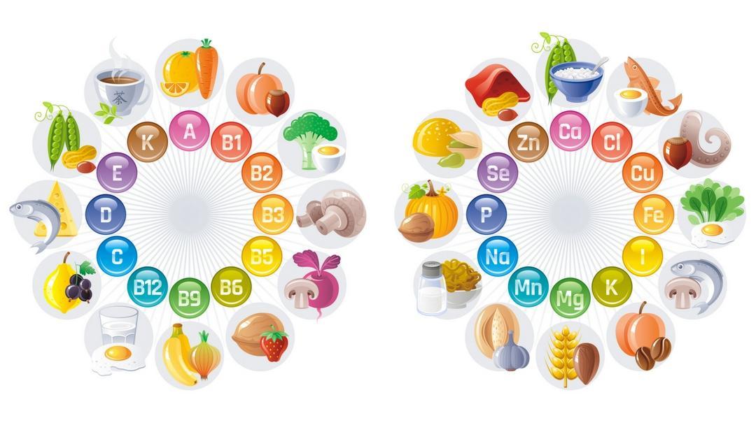 Trẻ em cần nhiều loại vitamin và khoáng chất khác nhau để phát triển khỏe mạnh