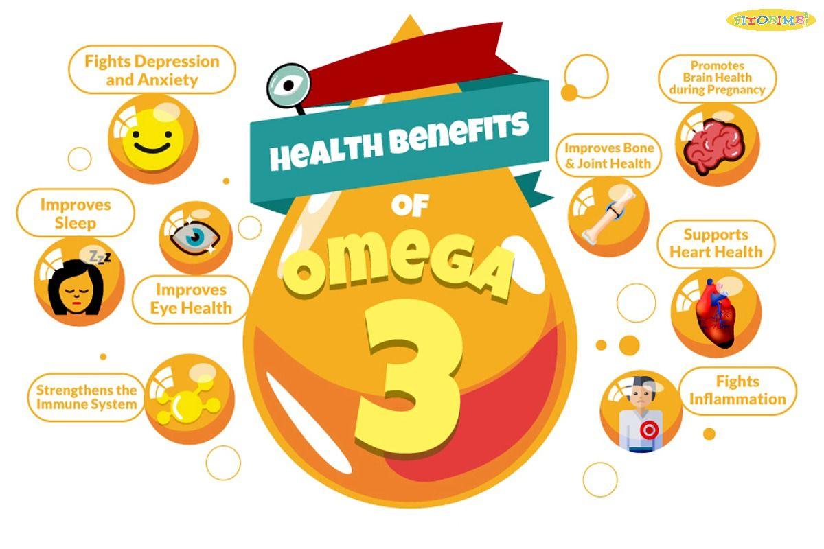 Lợi ích của Omega 3 mang đến cho sức khỏe trẻ