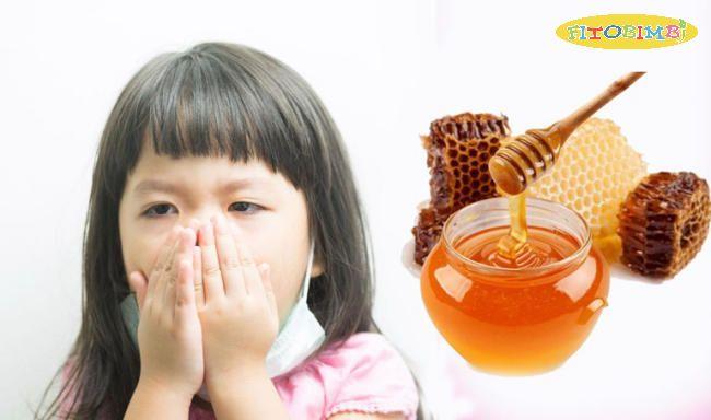 Mật ong trị ho cho bé hiệu quả