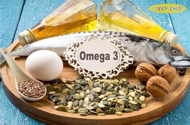 Omega 3 có nhiều trong cá và các loại hạt