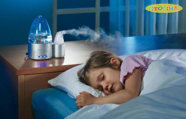 Thêm độ ẩm trong không gian sống của bé