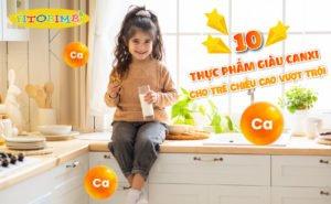thực phẩm bổ sung canxi cho trẻ