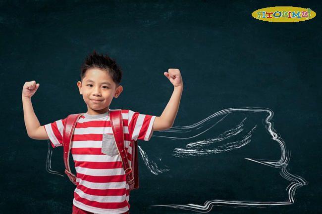 Trẻ có hành vi ý chí mạnh mẽ