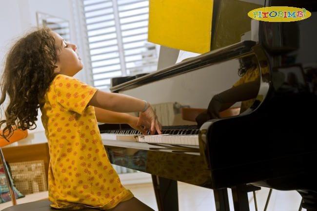 Trẻ có năng khiếu âm nhạc
