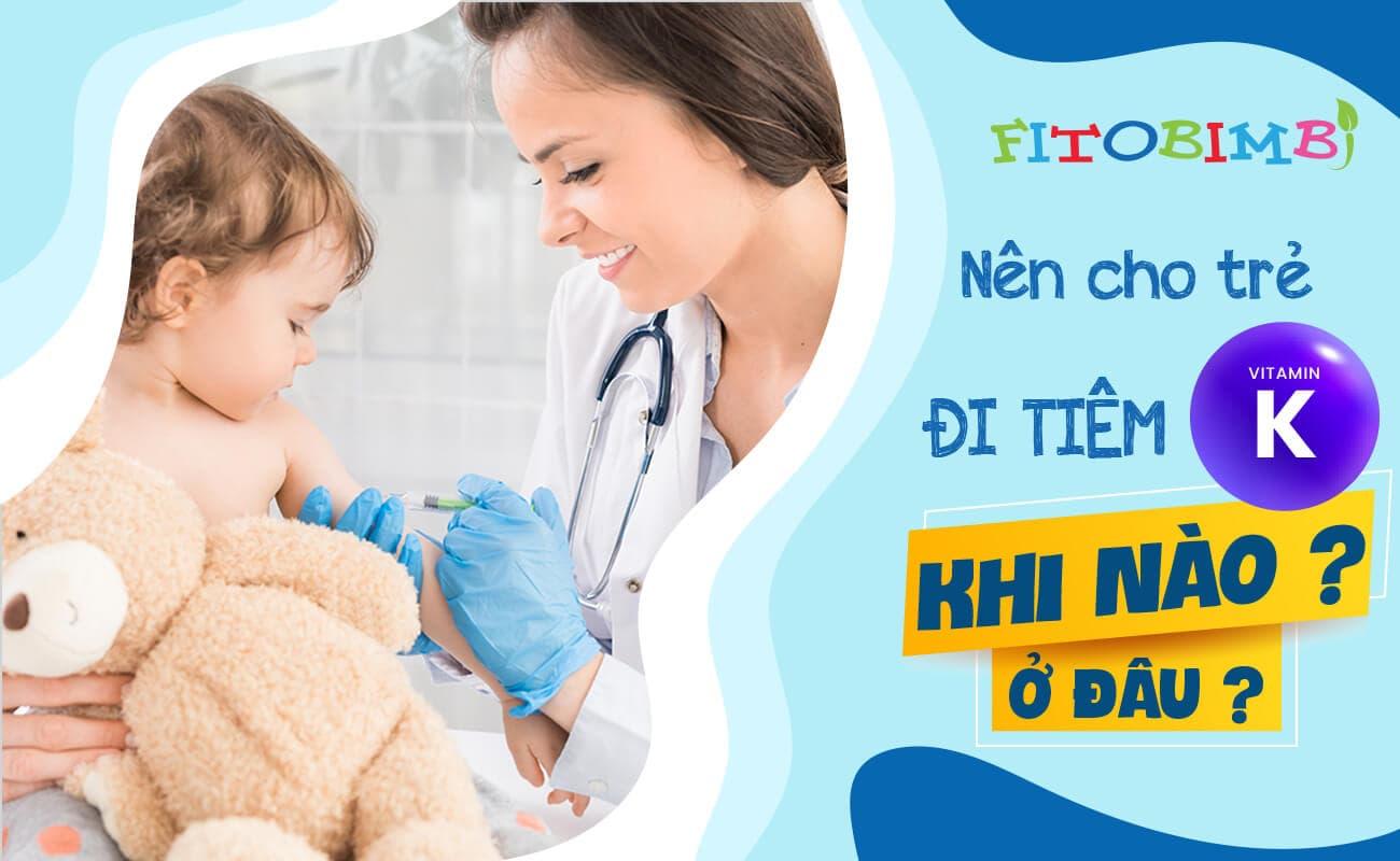 tiêm vitamin cho trẻ sơ sinh