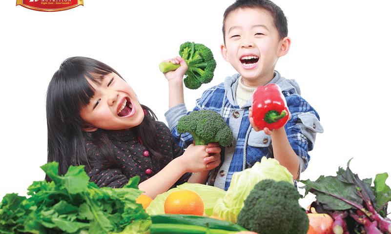 Bạn nên tăng cường thực phẩm giàu vitamin bổ dưỡng vào chế độ ăn hàng ngày của trẻ