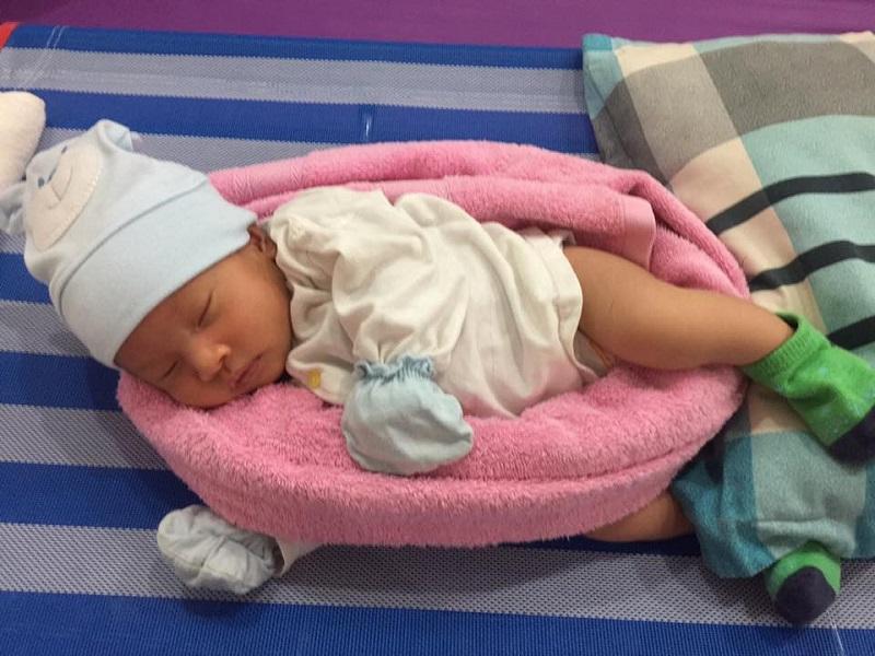 Tư thế ngủ thoải mái giúp trẻ ngủ ngon giấc hơn