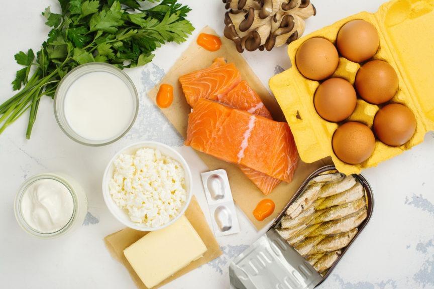 Thực phẩm giàu canxi và vitamin D tốt cho trẻ em