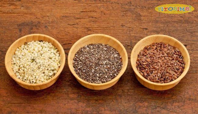 ALA có nhiều trong các loại hạt thực vật