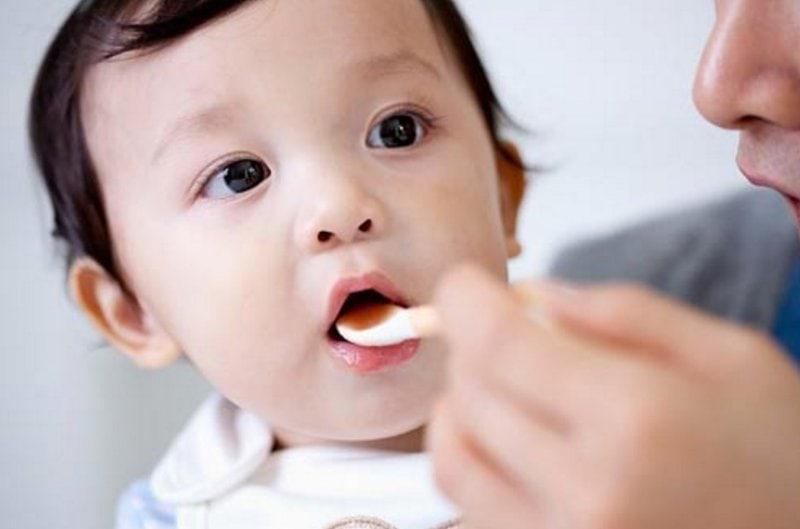Trẻ có thể dùng hoạt chất này từ 2-3 tháng