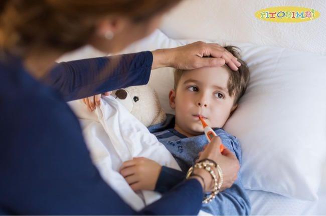 Chăm sóc đúng cách giúp con nhanh chóng khỏi bệnh