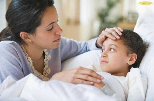Chăm sóc đúng cách giúp trẻ nhanh chóng khỏe mạnh