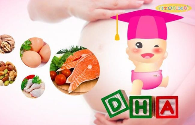 DHA rất cần thiết cho thai nhi và trẻ sơ sinh
