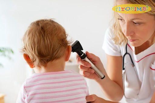 Điều trị viêm tai giữa ở trẻ dưới 6 tháng tuổi
