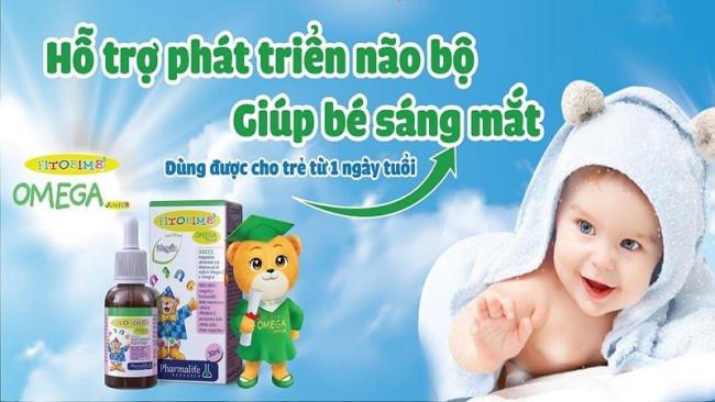 Fitobimbi Omega Junior dùng được cho bé từ 1 ngày tuổi