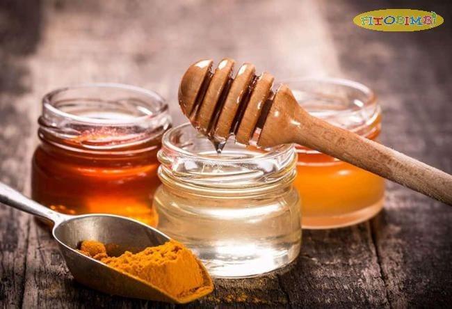 Hỗn hợp nghệ và mật ong trị ho về đêm