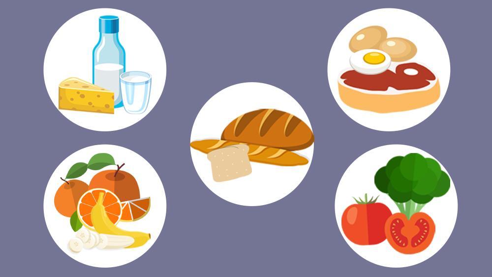 Chế độ ăn đầy đủ dinh dưỡng giúp tóc trẻ bớt rụng và nhanh mọc