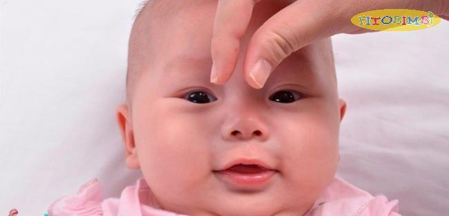Massage mũi cho trẻ sơ sinh