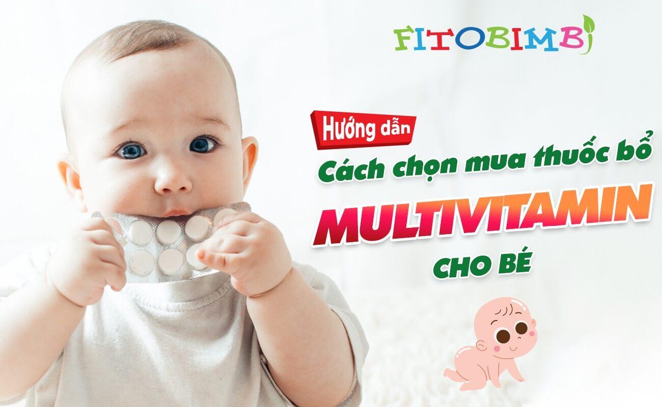 multivitamin cho bé